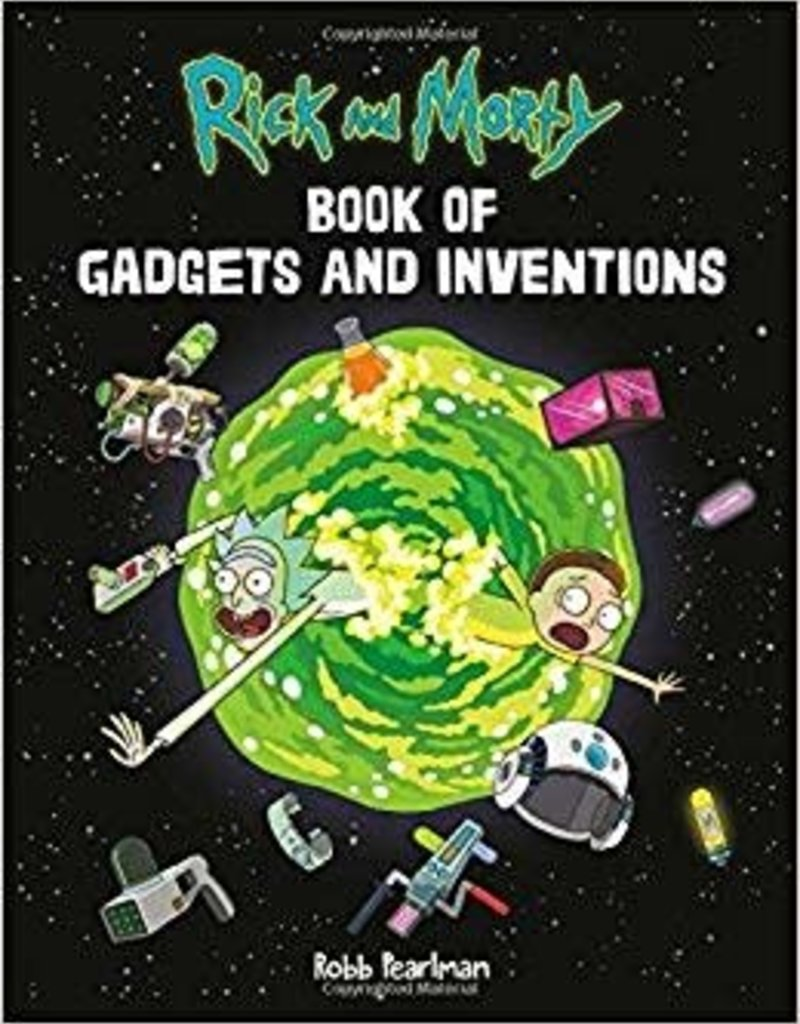 RUNNING PRESS RICK AND MORTY BOOK OF GADGETS & INVENTIONS FLEXIBOUND