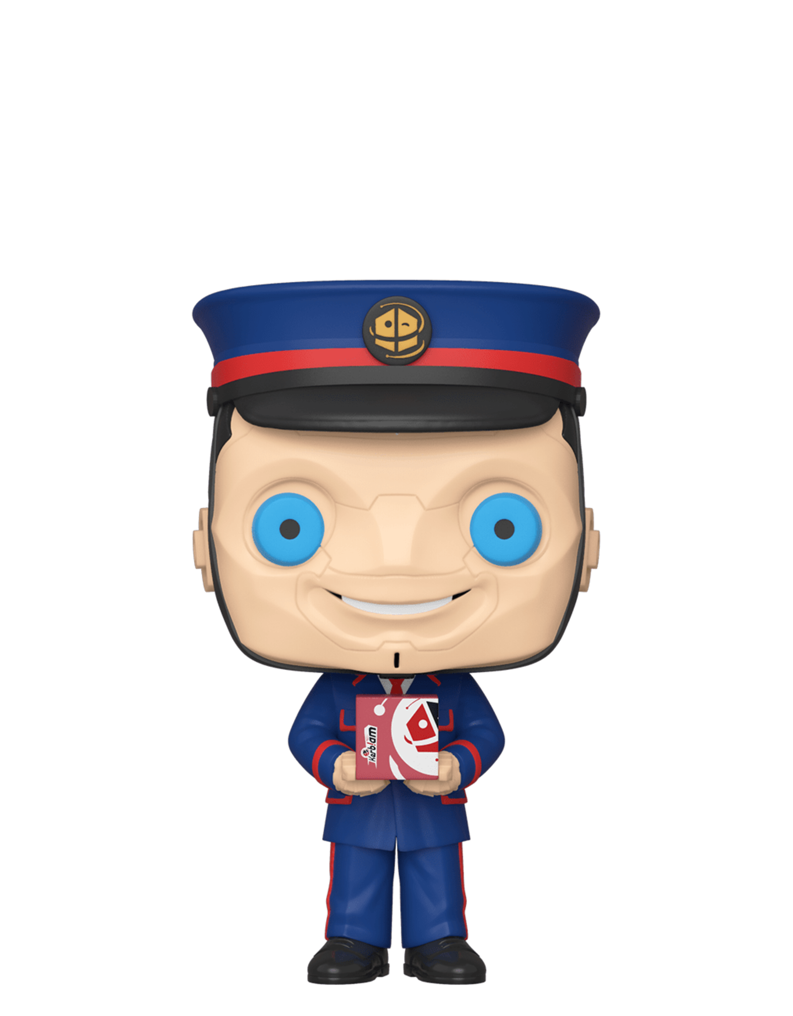 FUNKO POP DOCTOR WHO KERBLAM MAN VINYL FIG