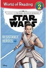 DISNEY LUCASFILM PRESS WORLD OF READING LEVEL 2 STAR WARS RESISTANCE HEROES SC