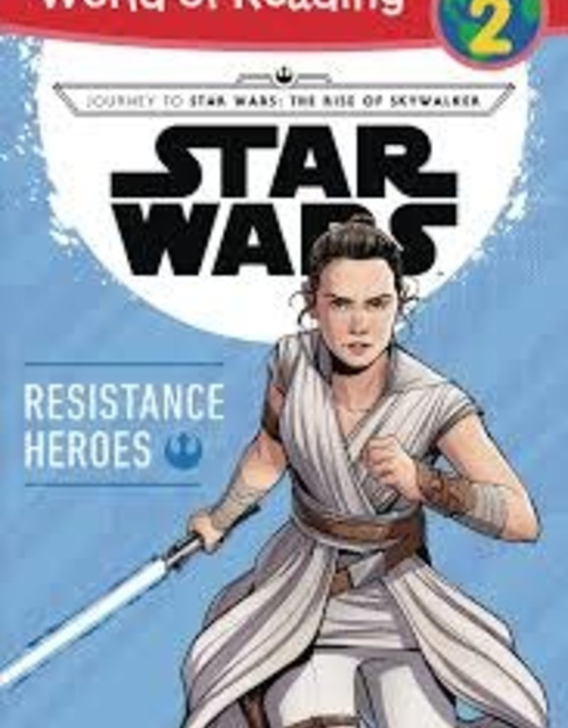 DISNEY LUCASFILM PRESS WORLD OF READING LEVEL 2 STAR WARS RESISTANCE HEROES SC
