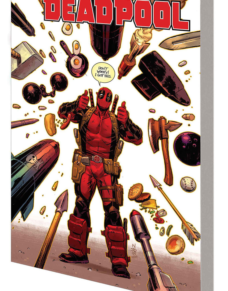 MARVEL COMICS DEADPOOL BY SKOTTIE YOUNG TP VOL 03 WEASEL GOES TO HELL