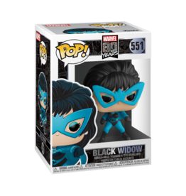 FUNKO POP MARVEL 80TH BLACK WIDOW FIRST APPEARANCE VINYL FIG