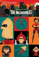 THE INCREDIBLES (DISNEY/PIXAR) LITTLE GOLDEN BOOK