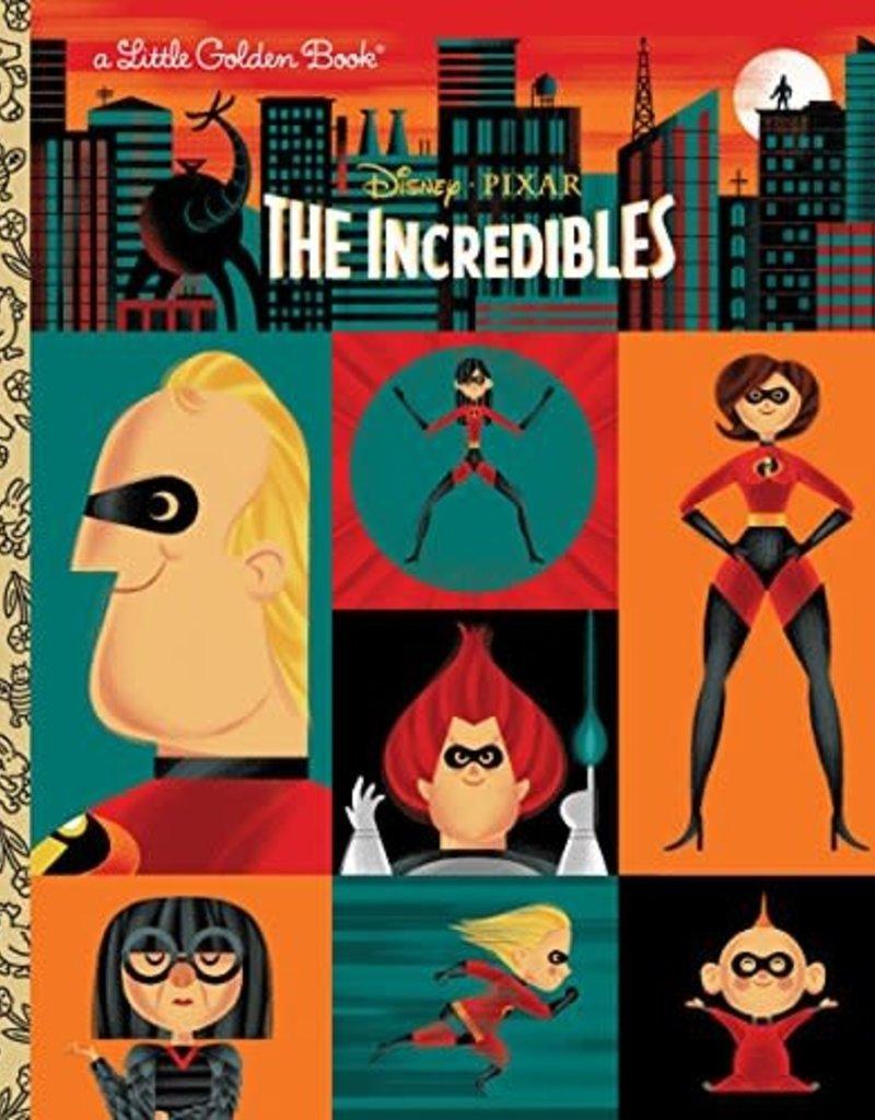 THE INCREDIBLES (DISNEY/PIXAR) LITTLE GOLDEN BOOK