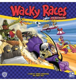 CMON PRODUCTIONS WACKY RACES THE BOARD GAME