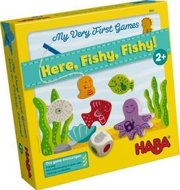 HABA GAMES MY VERY FIRST GAME HERE, FISHY, FISHY!