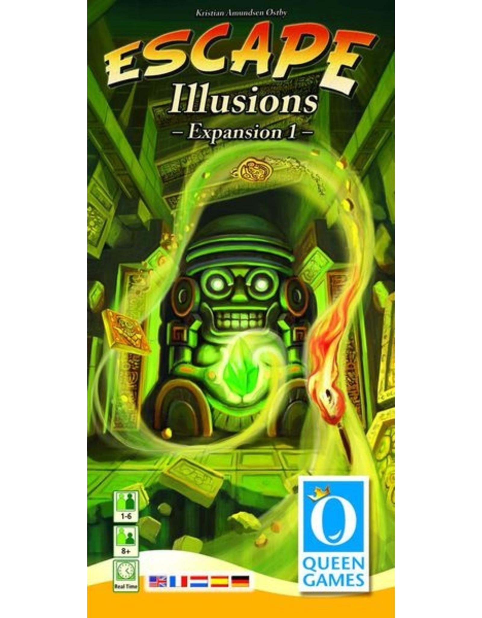 QUEEN GAMES ESCAPE ILLUSIONS (EXPANSION 1)