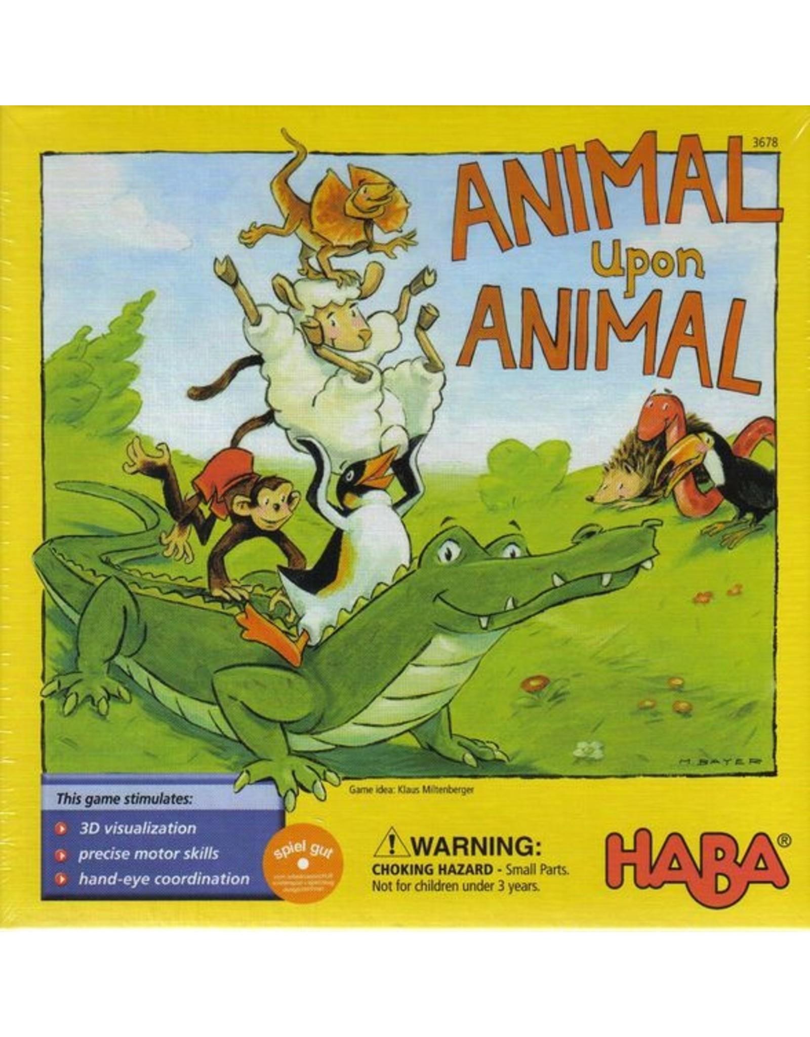 HABA GAMES ANIMAL UPON ANIMAL