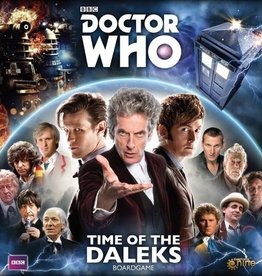 GALE FORCE NINE DOCTOR WHO TIME OF THE DALEKS BOARD GAME