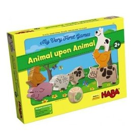HABA GAMES MY VERY FIRST GAME: ANIMAL UPON ANIMAL