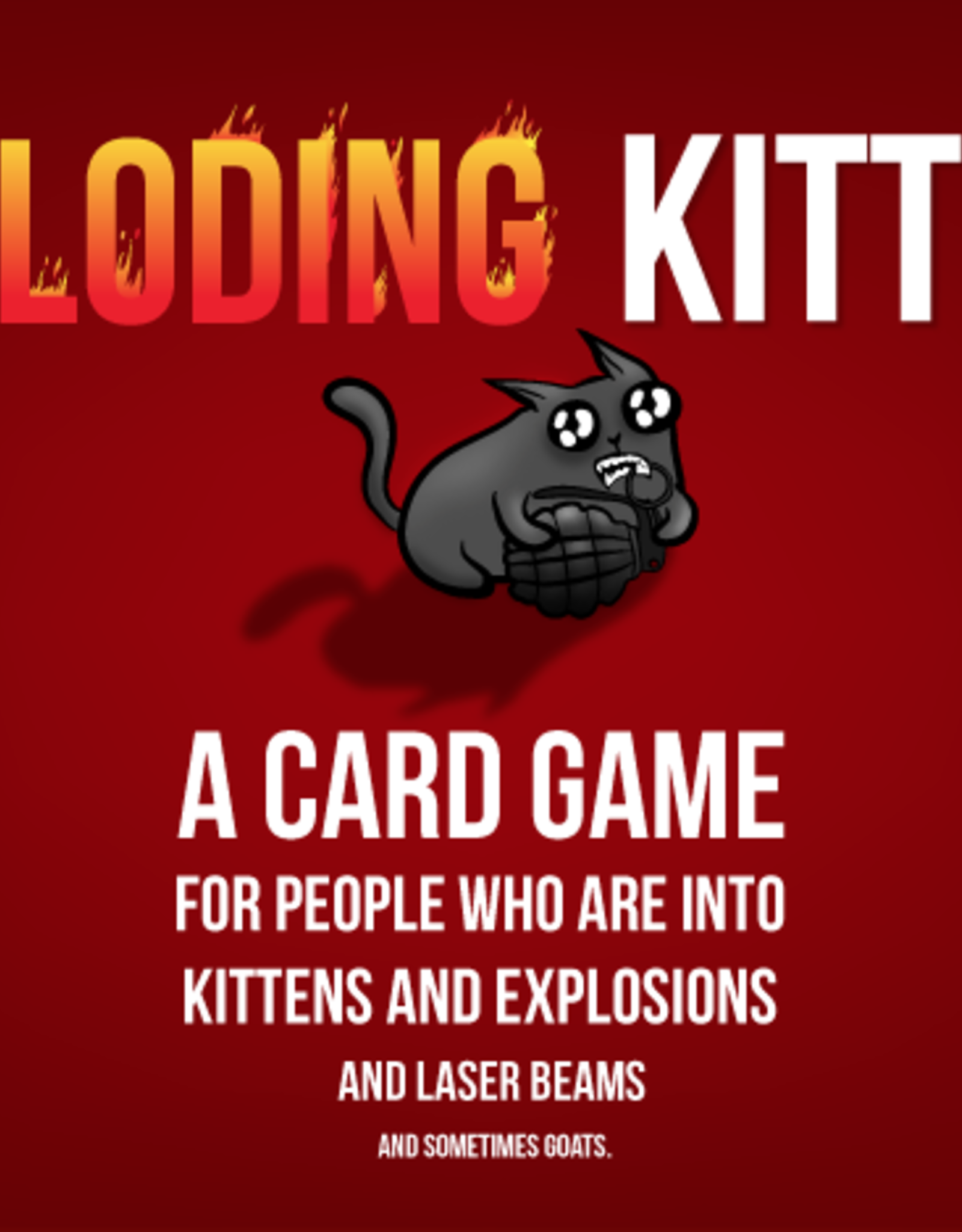 EXPLODING KiITTENS FIRST EDITION (LIMITED)