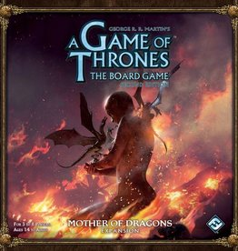 FANATASY FLIGHT GAMES GAME OF THRONES BOARD GAME 2ND ED MOTHER OF DRAGONS EXPANSION