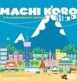 PANDASAURUS GAMES MACHI KORO 5TH ANNIVERSARY ED