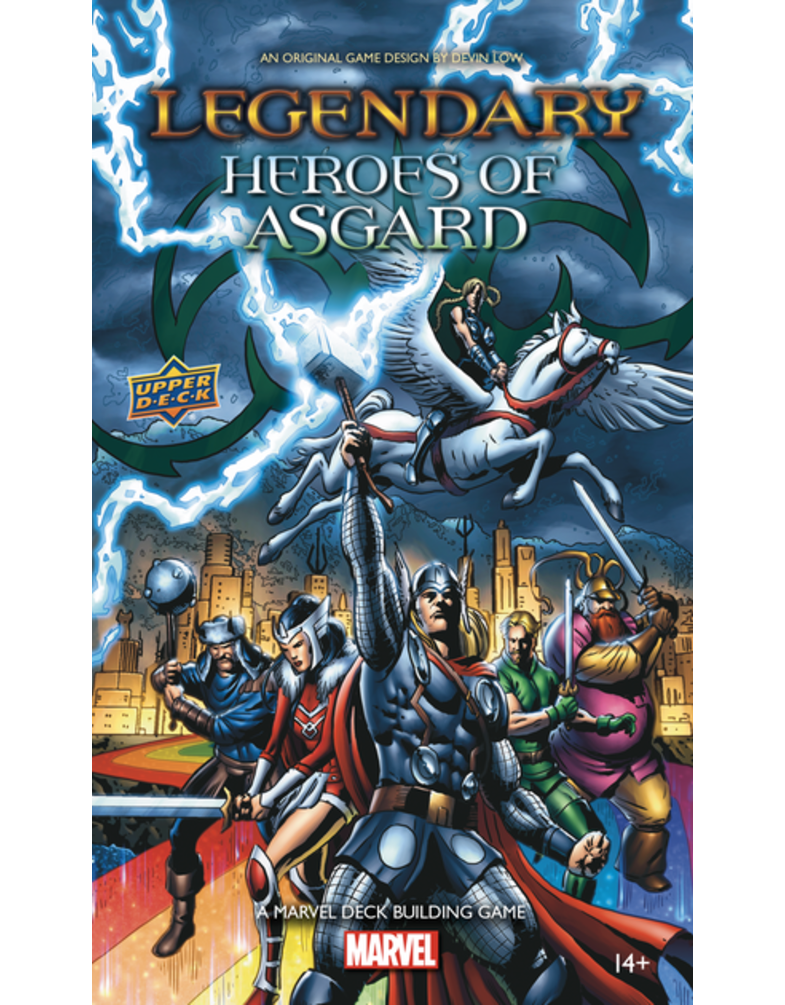 UPPER DECK MARVEL LEGENDARY DBG HEROES OF ASGARD EXPANSION