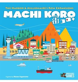PANDASAURUS GAMES MACHI KORO 5TH ANNIVERSARY HARBOR AND MILLIONNAIRE'S ROW EXPANSIONS