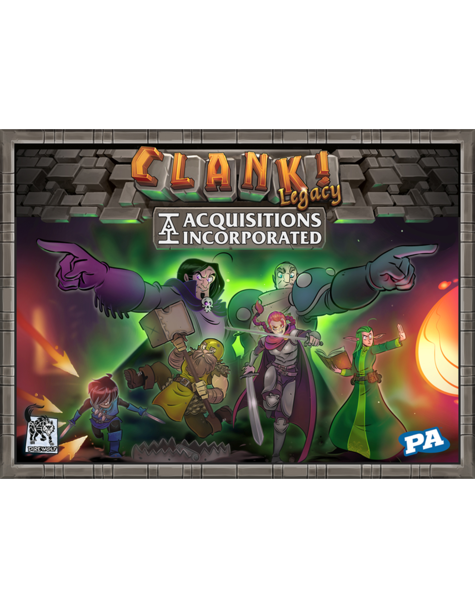 RENEGADE GAME STUDIOS CLANK LEGACY ACQUISITIONS INCORPORATED