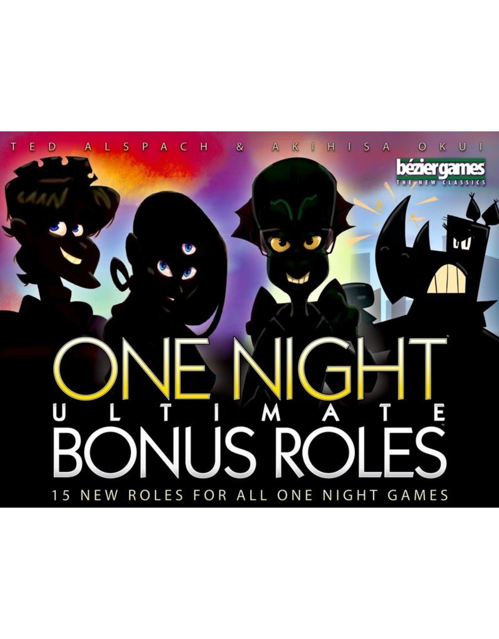 BEZIER GAMES ONE NIGHT BONUS ROLES
