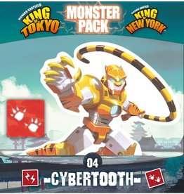 IELLO KING OF TOKYO/NEW YORK MONSTER PACK CYBERTOOTH