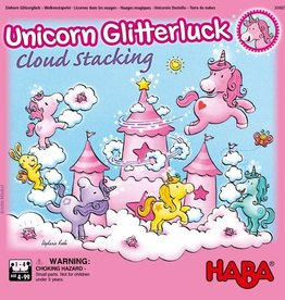 HABA GAMES UNICORN GLITTERLUCK CLOUD STACKING