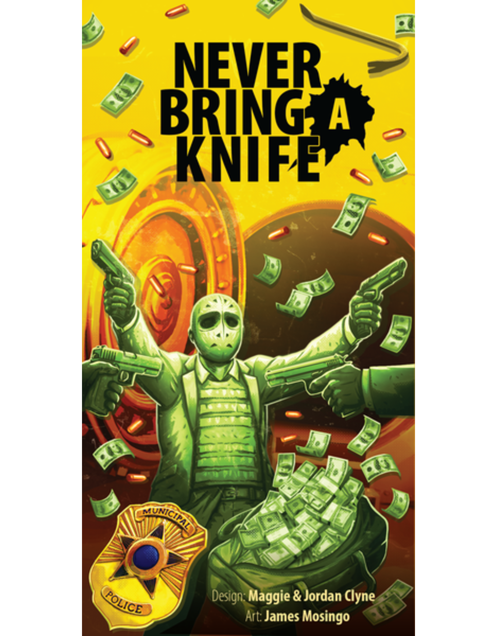 ATLAS GAMES NEVER BRING A KNIFE