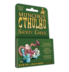 STEVE JACKSON GAMES MUNCHKIN CTHULHU SANITY CHECK