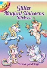 DOVER PUBLICATIONS GLITTER MAGICAL UNICORNS STICKERS
