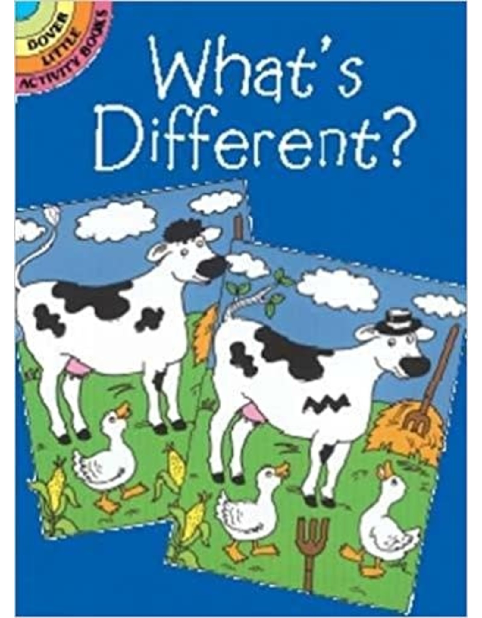 DOVER PUBLICATIONS WHAT'S DIFFERENT?