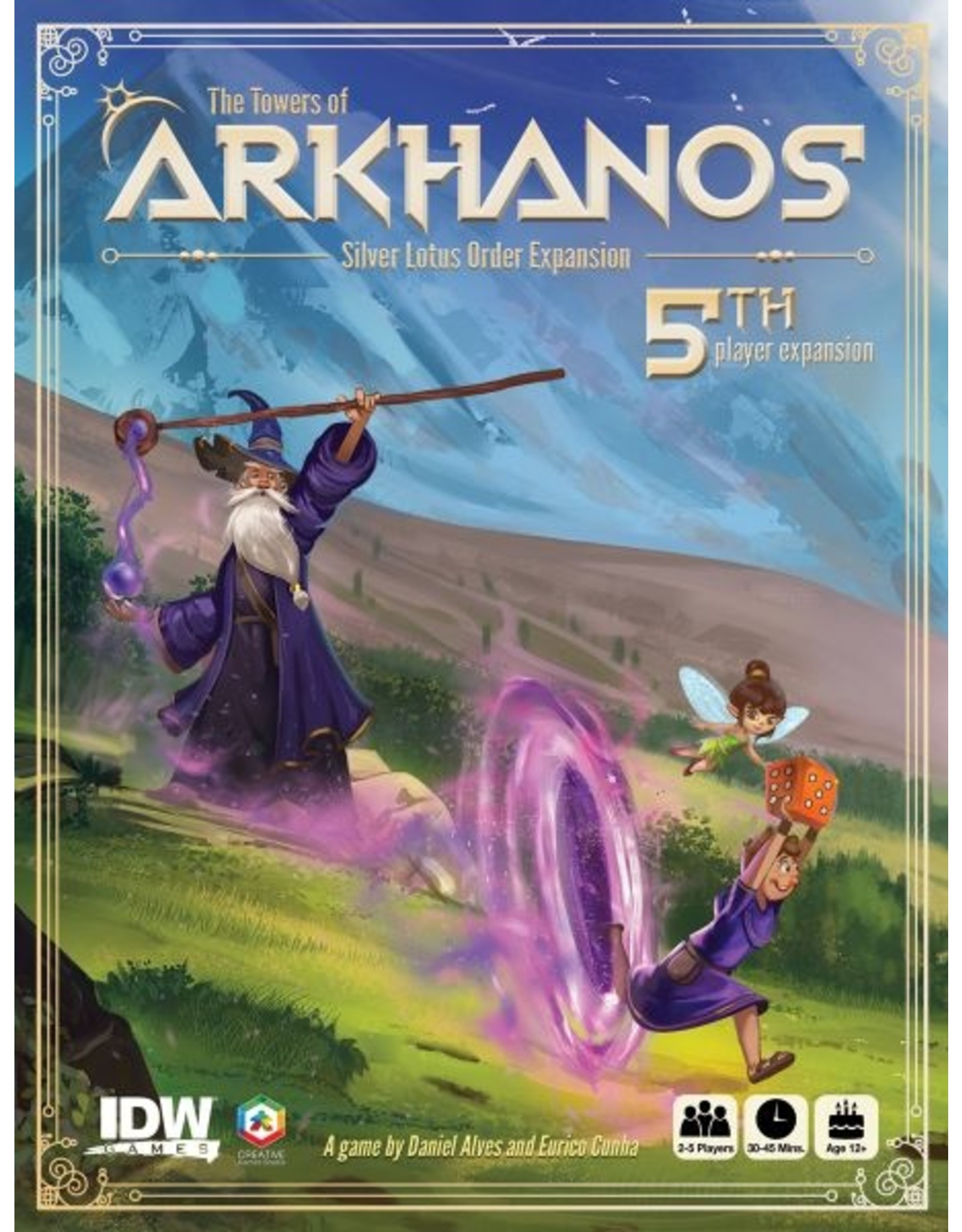 THE TOWERS OF ARKHANOS SILVER LOTUS ORDER EXPANSION