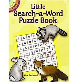 DOVER PUBLICATION LITTLE SEARCH-A-WORD PUZZLE BOOK