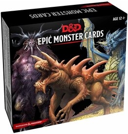 GALE FORCE NINE D&D EPIC MONSTER CARDS
