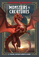 WIZARDS OF THE COAST D&D YOUNG ADVENTURERS GUIDE MONSTERS AND CREATURES