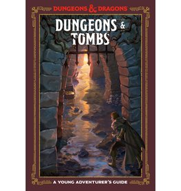 TEN SPEED PRESS D&D YOUNG ADVENTURERS GUIDE DUNGEONS & TOMBS HC