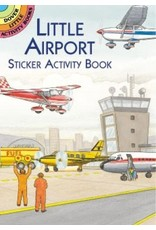 DOVER PUBLICATIONS LITTLE AIRPORT STICKER ACTIVITY BOOK