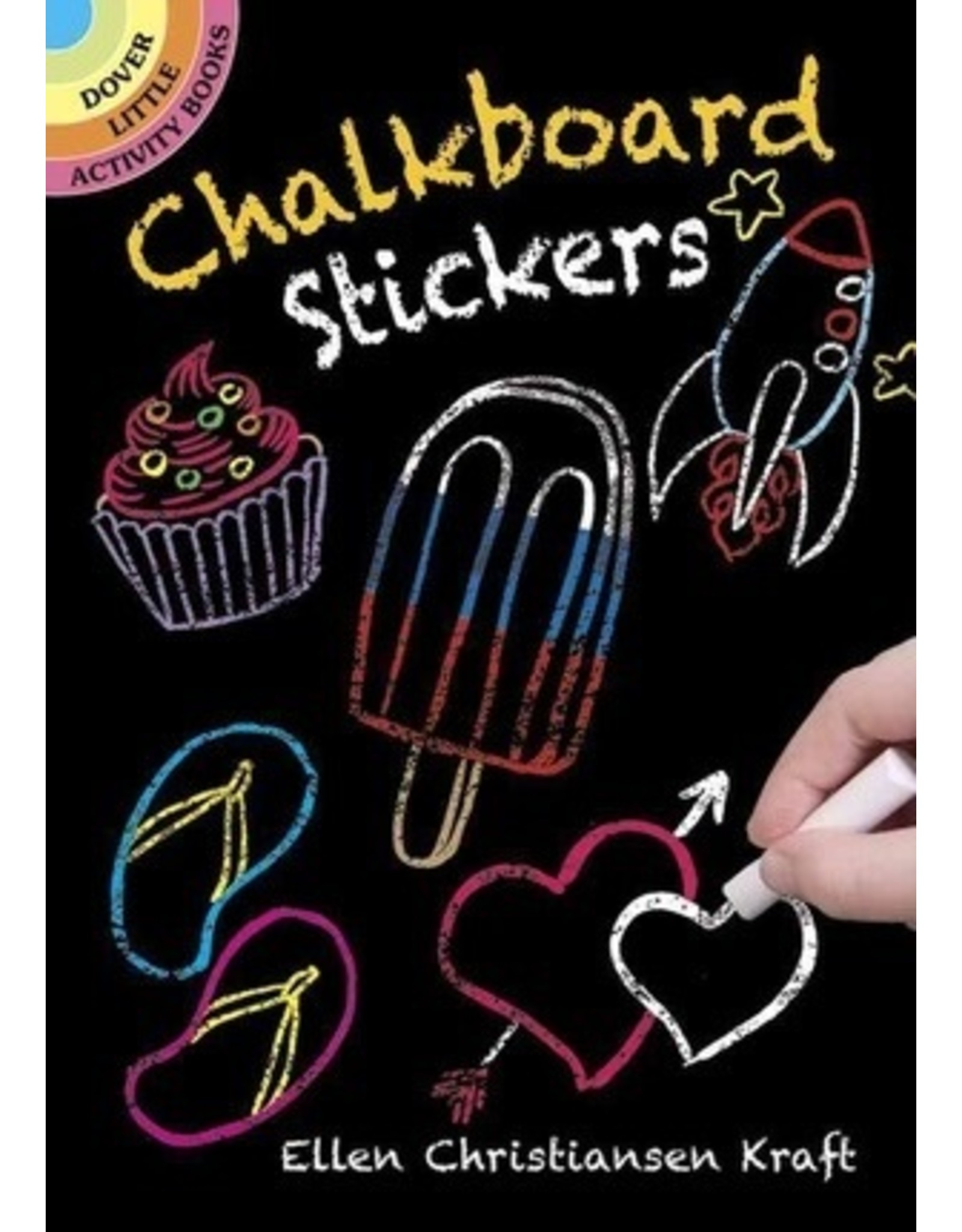 DOVER PUBLICATIONS CHALKBOARD STICKERS