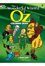 DOVER PUBLICATIONS WONDERFUL WIZARD OF OZ COLORING BOOK