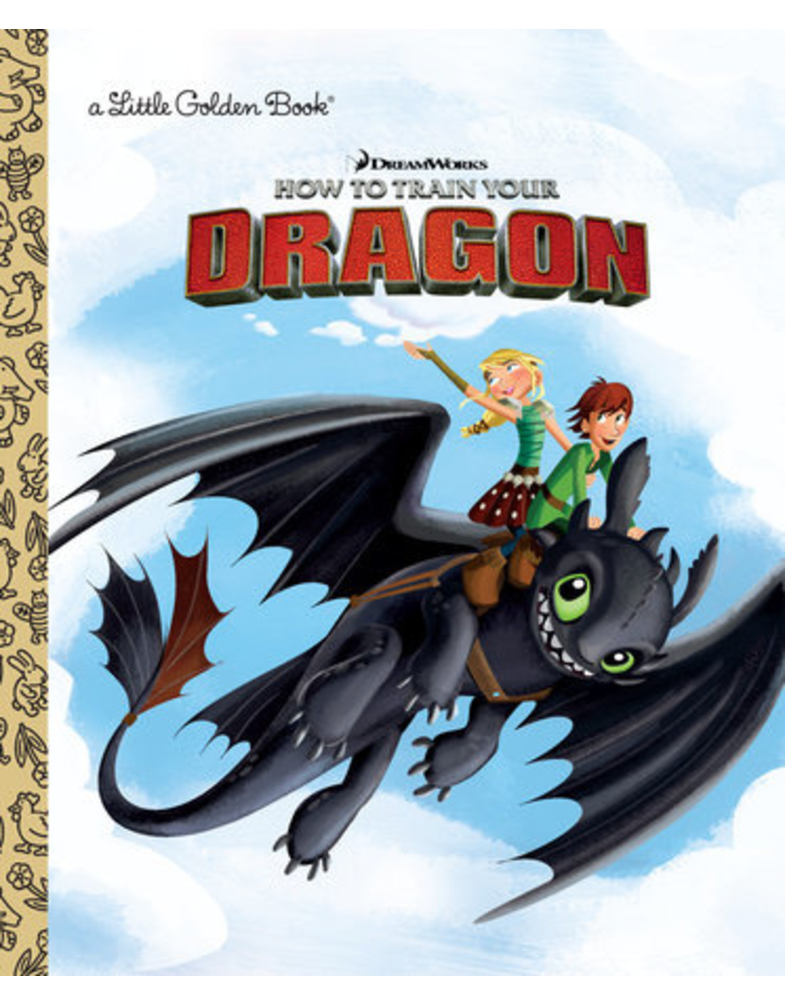 DREAMWORKS HOW TO TRAIN YOUR DRAGON LITTLE GOLDEN BOOK