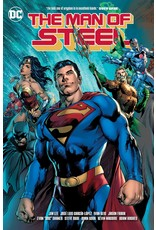 DC COMICS MAN OF STEEL BY BRIAN MICHAEL BENDIS HC