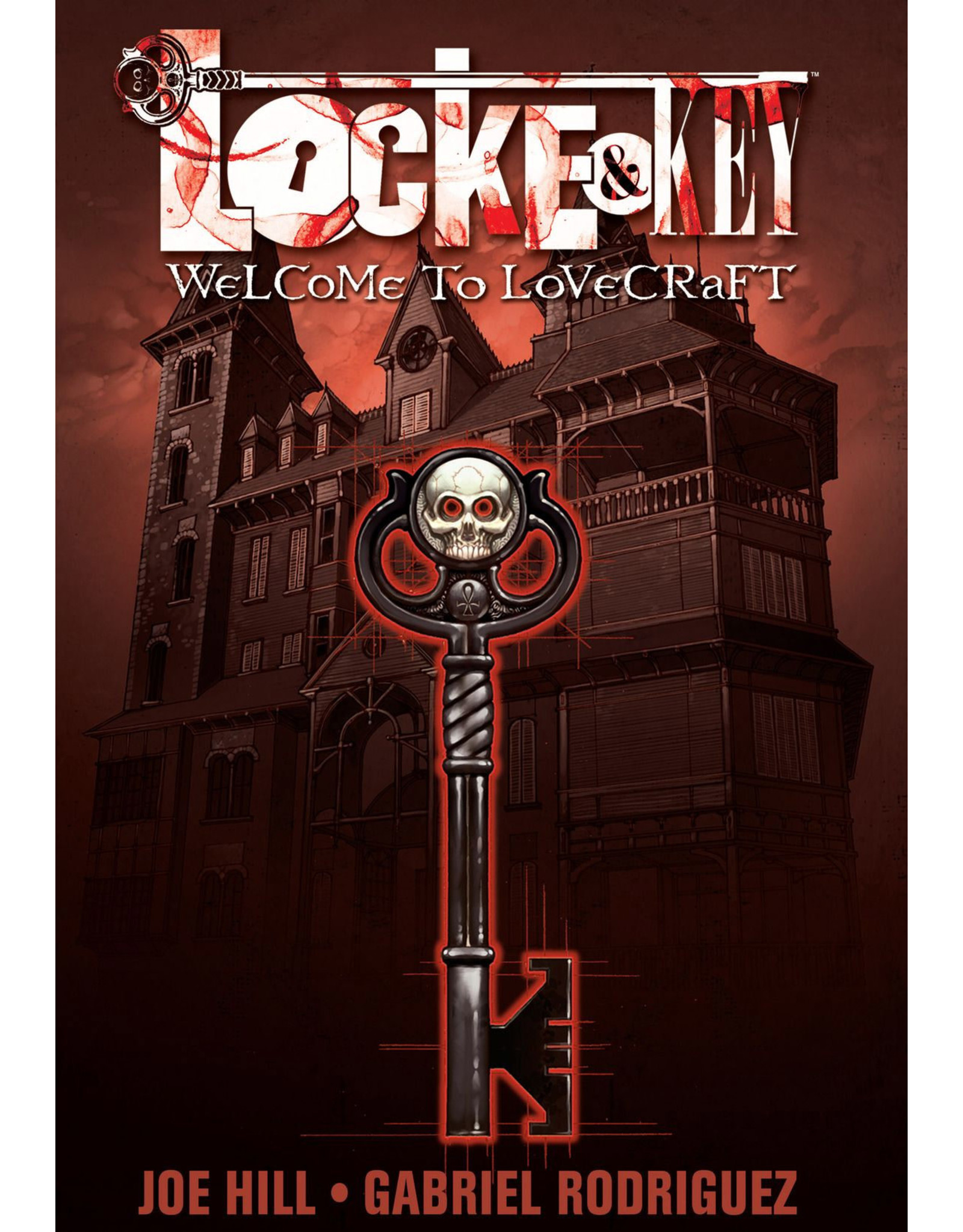 IDW PUBLISHING LOCKE & KEY TP VOL 01 WELCOME TO LOVECRAFT