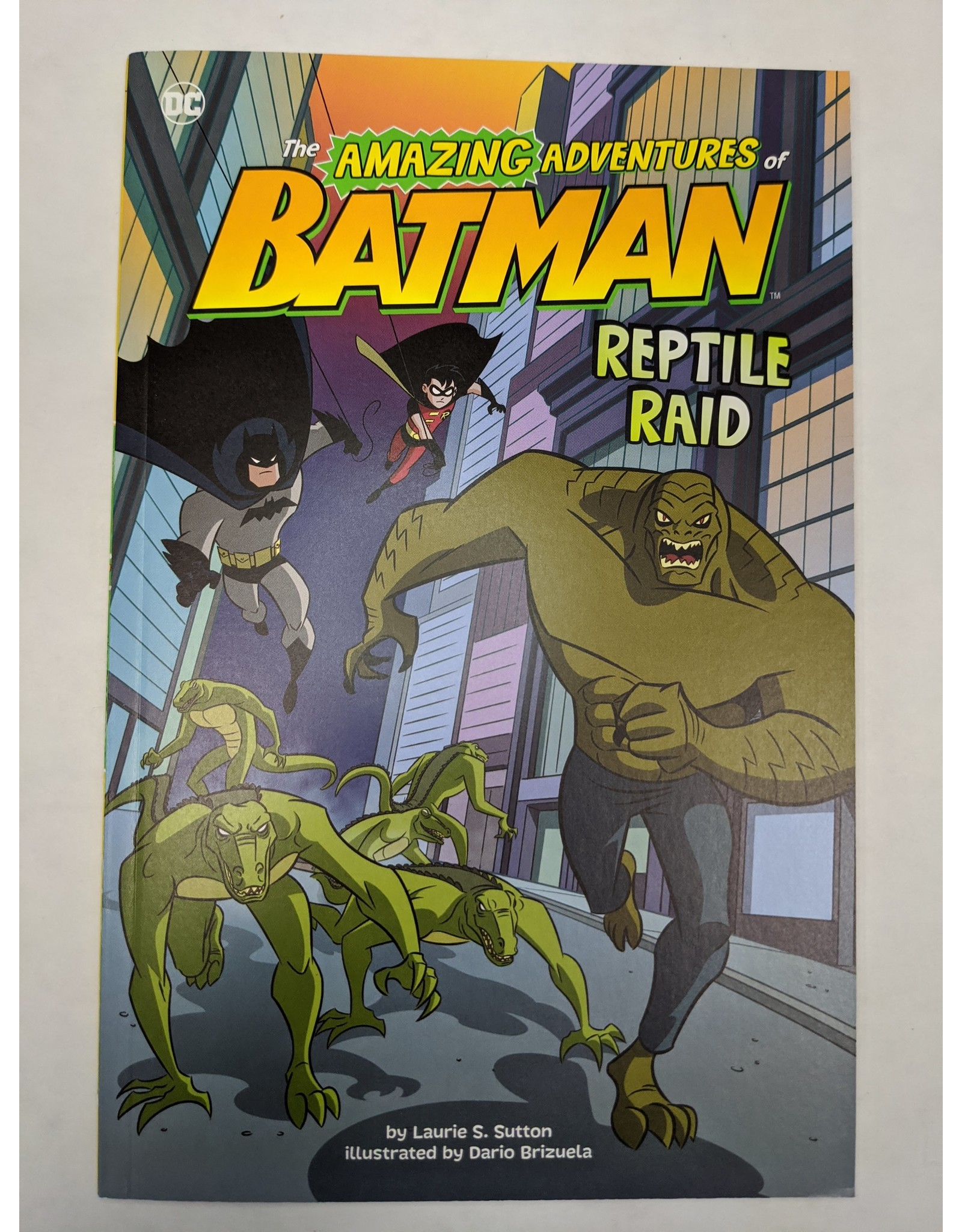 STONE ARCH BOOKS DC AMAZING ADV OF BATMAN YR SC REPTILE RAID