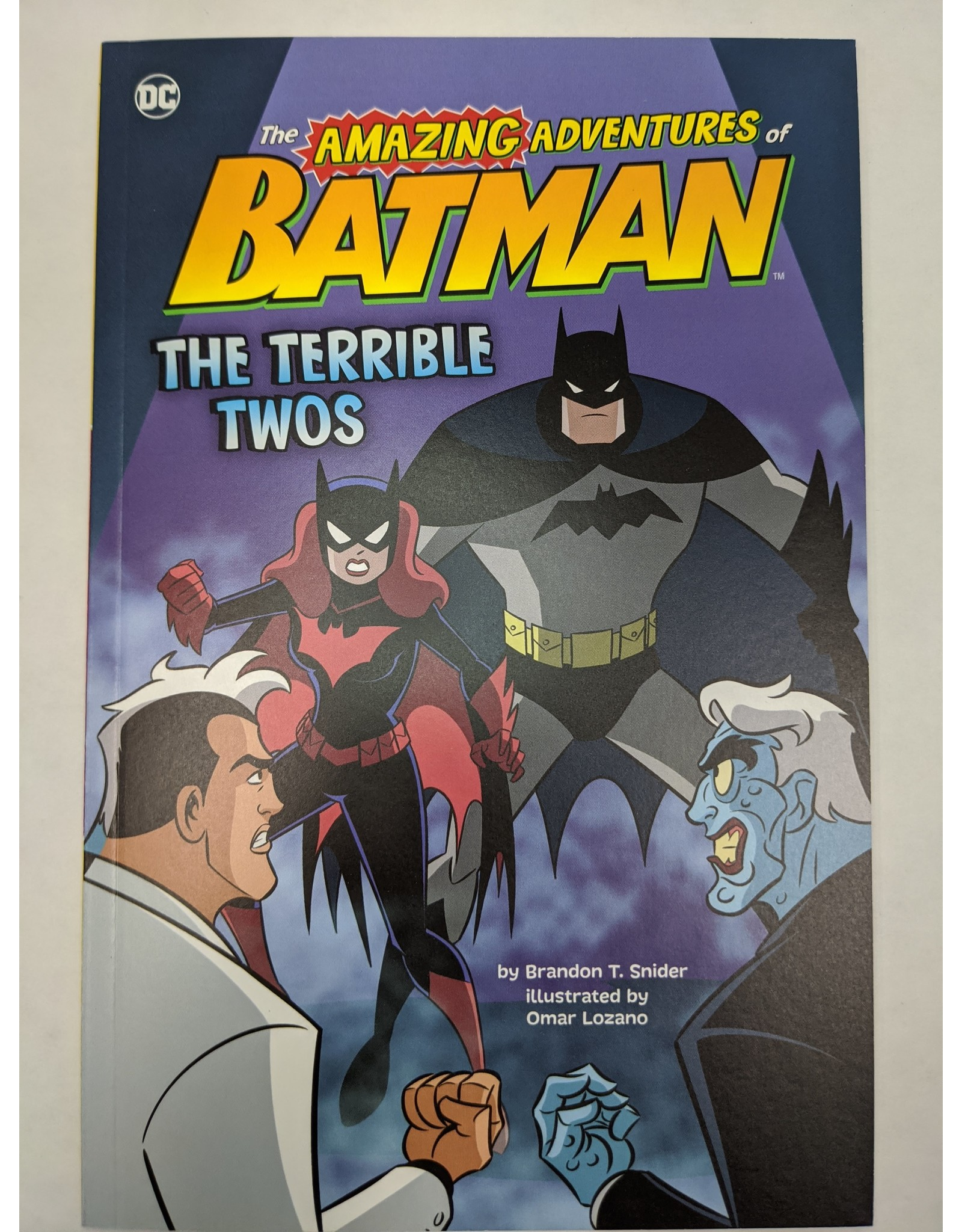 STONE ARCH BOOKS DC AMAZING ADV OF BATMAN YR SC TERRIBLE TWOS