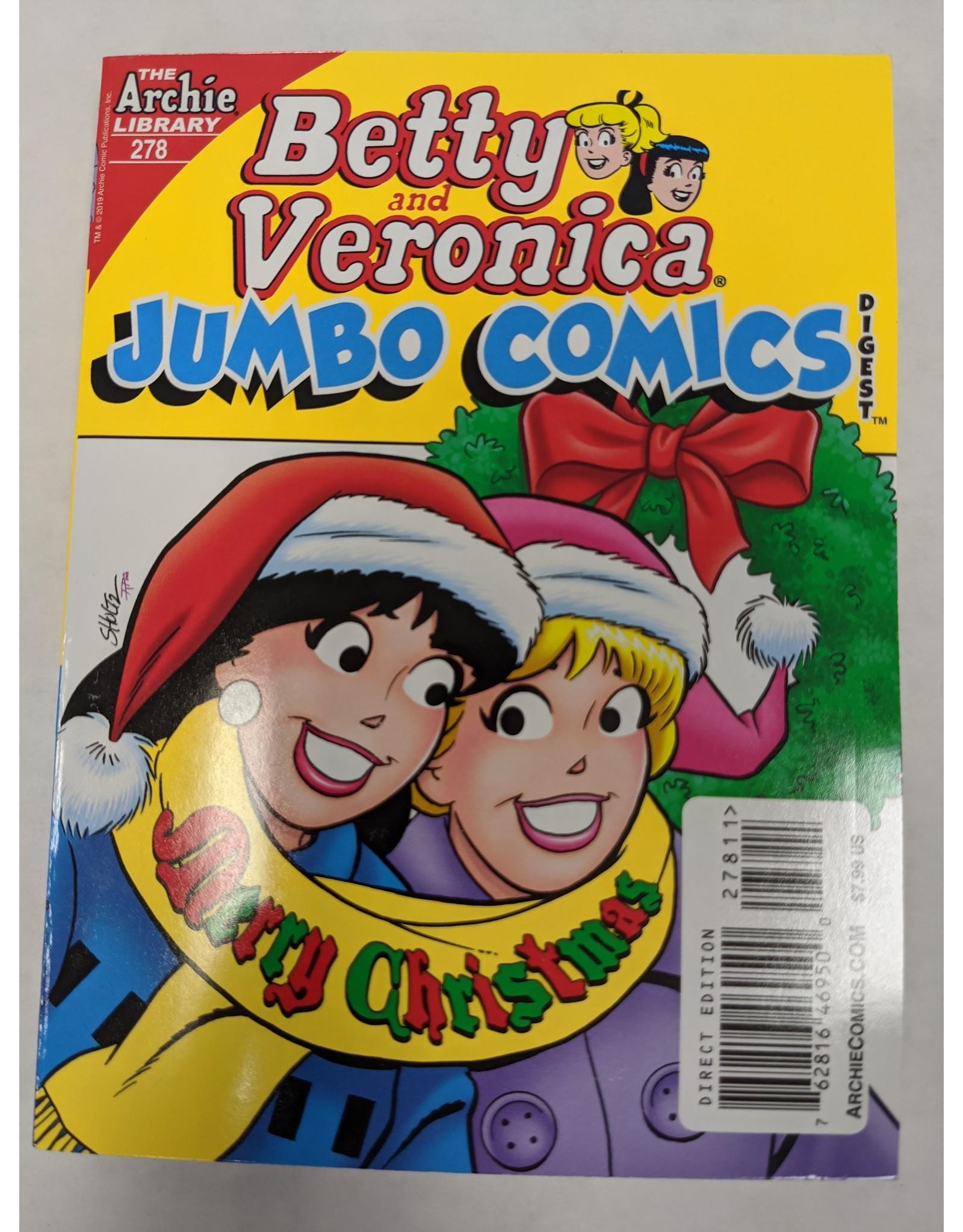 ARCHIE COMIC PUBLICATIONS BETTY & VERONICA JUMBO COMICS DIGEST #278