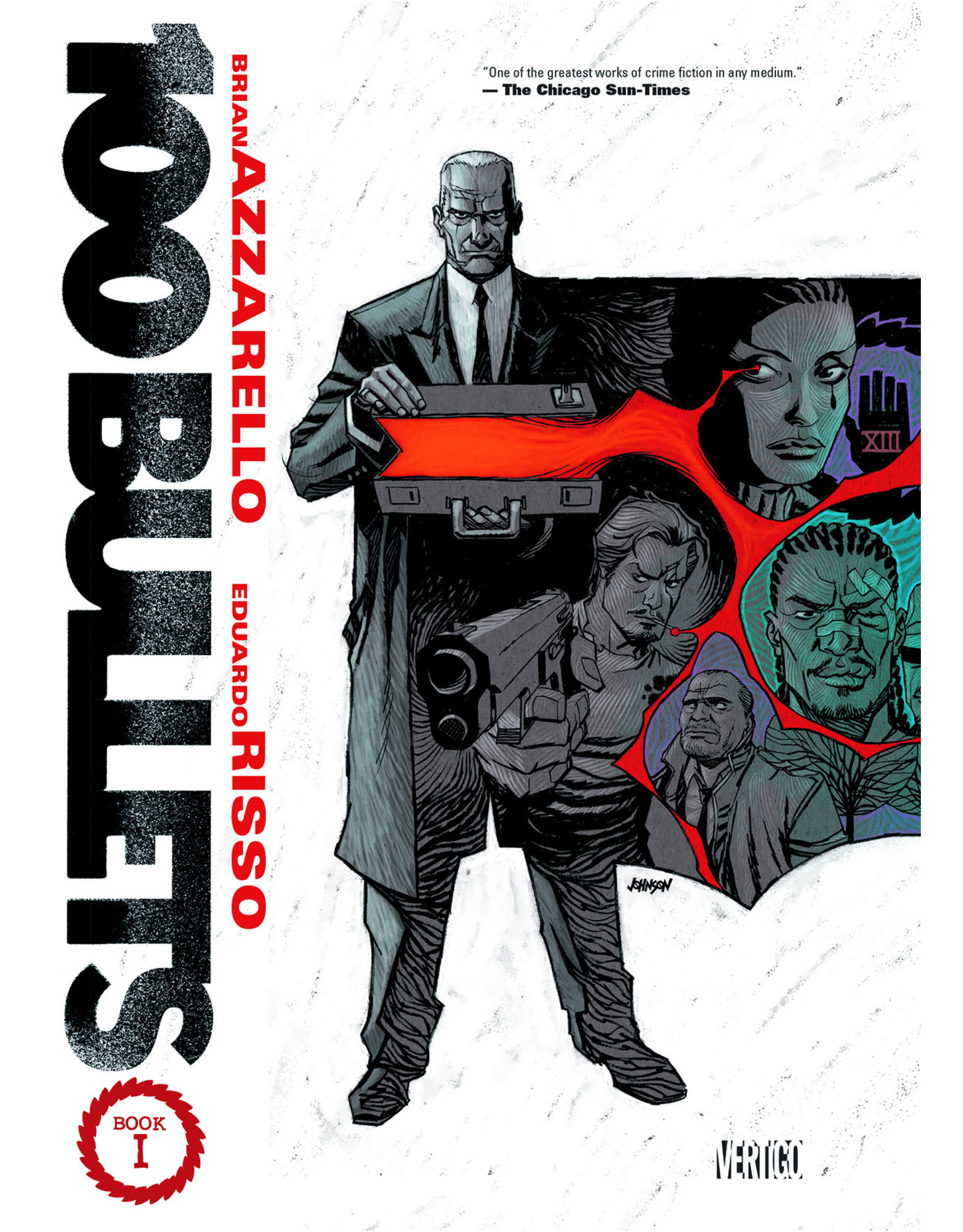 DC COMICS 100 BULLETS TP BOOK 01
