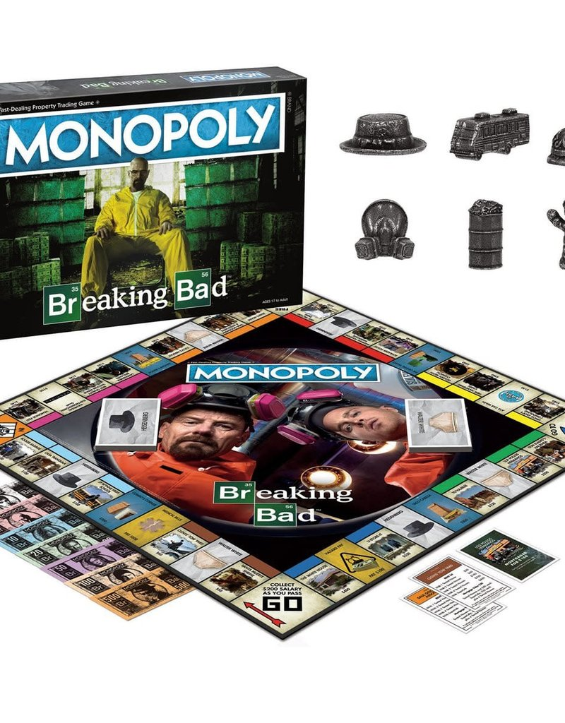 USAOPOLY BREAKING BAD MONOPOLY