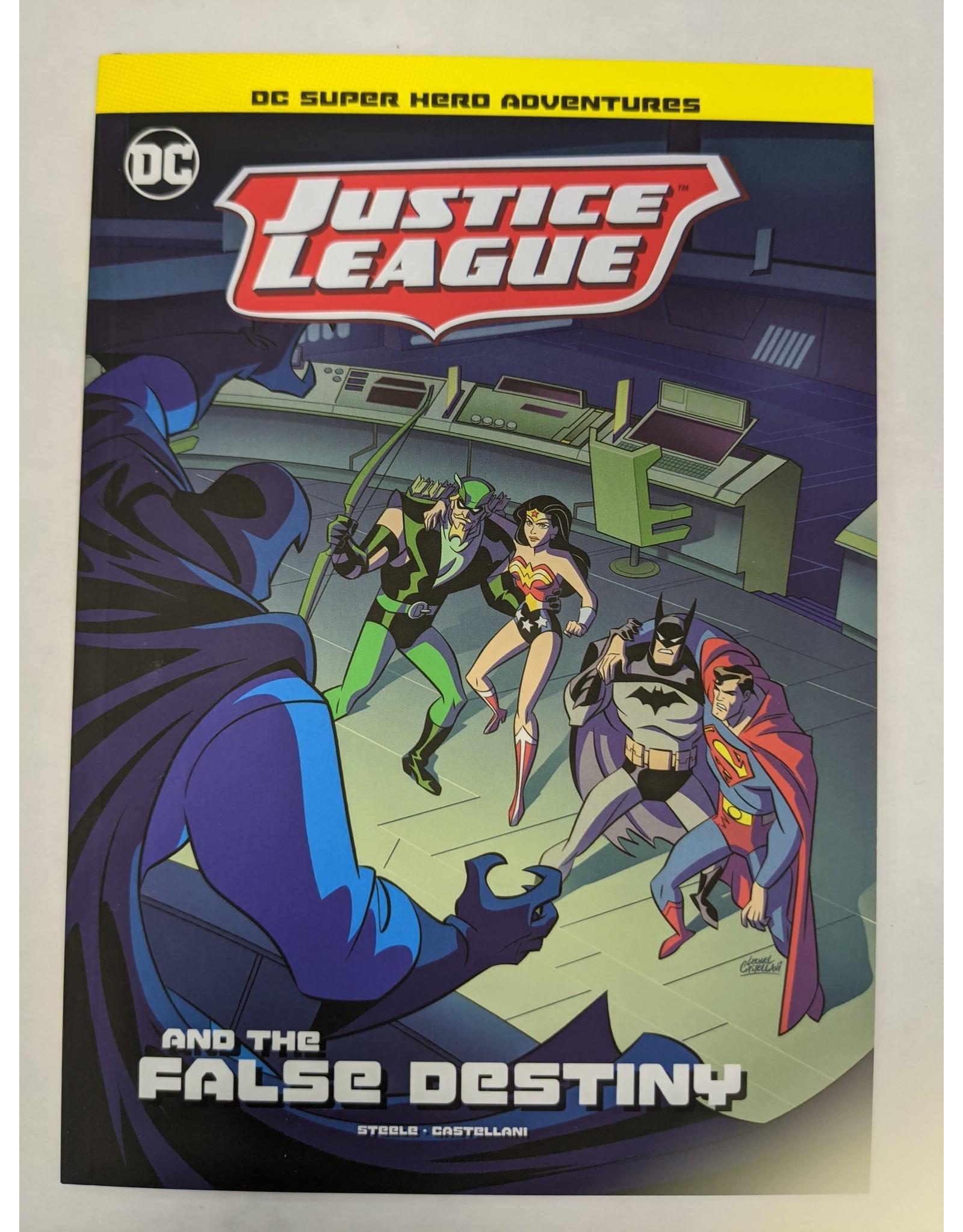 STONE ARCH BOOKS DC JUSTICE LEAGUE YR TP JUSTICE LEAGUE FALSE DESTINY