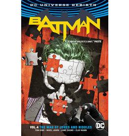 DC COMICS BATMAN TP VOL 04 THE WAR OF JOKES & RIDDLES (REBIRTH)