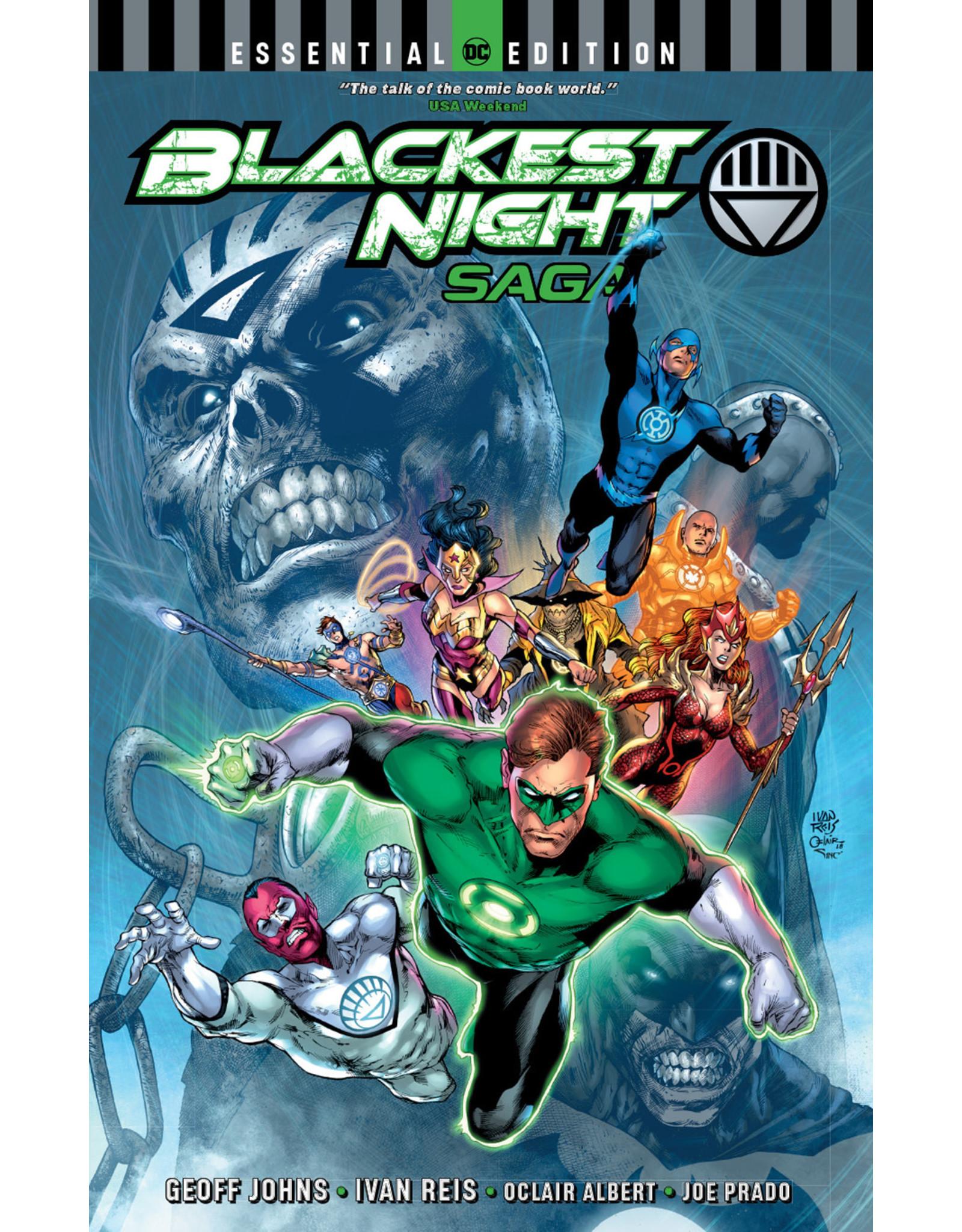 DC COMICS BLACKEST NIGHT SAGA ESSENTIAL EDITION TP