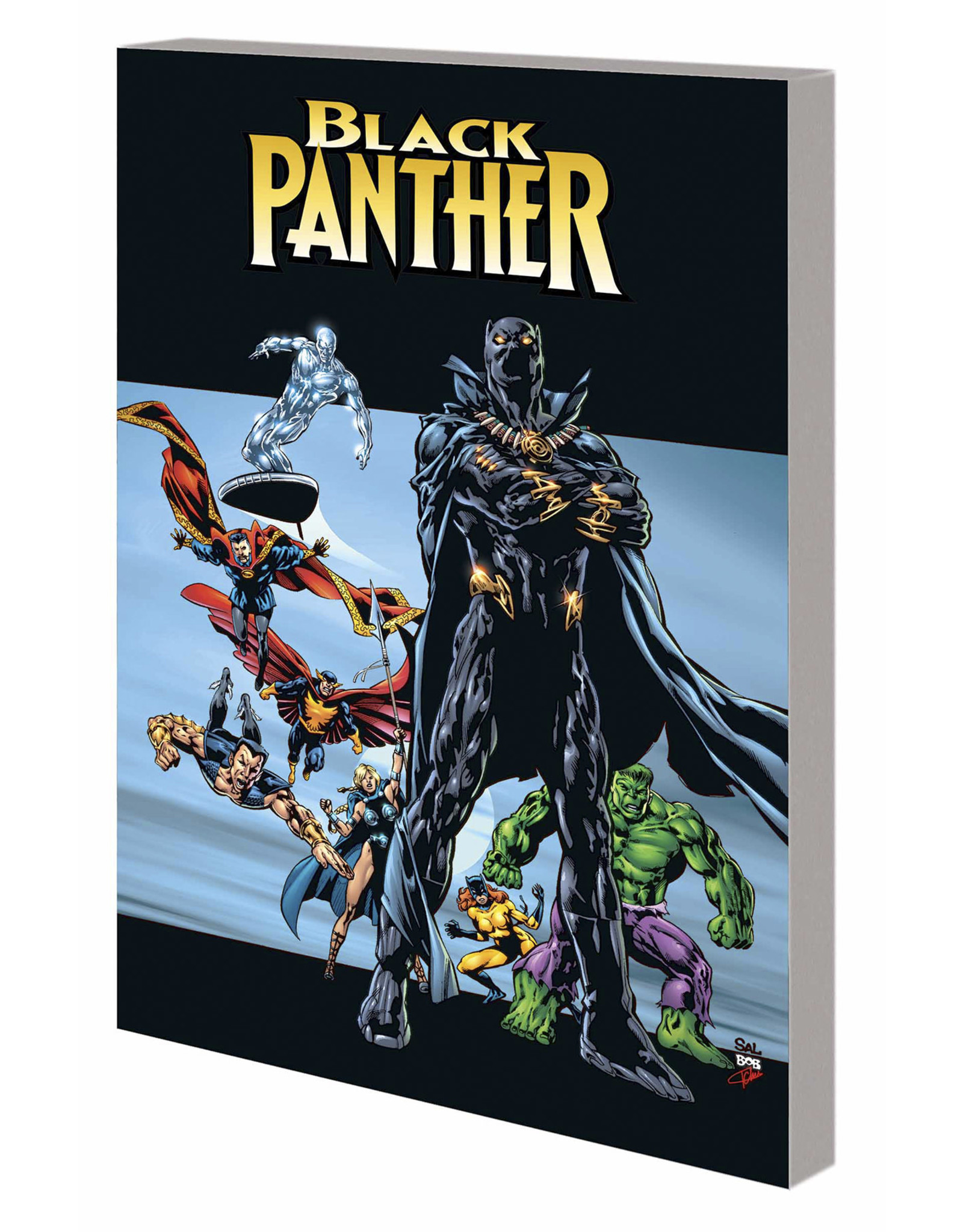 MARVEL COMICS BLACK PANTHER BY PRIEST TP VOL 02 COMPLETE COLLECTION