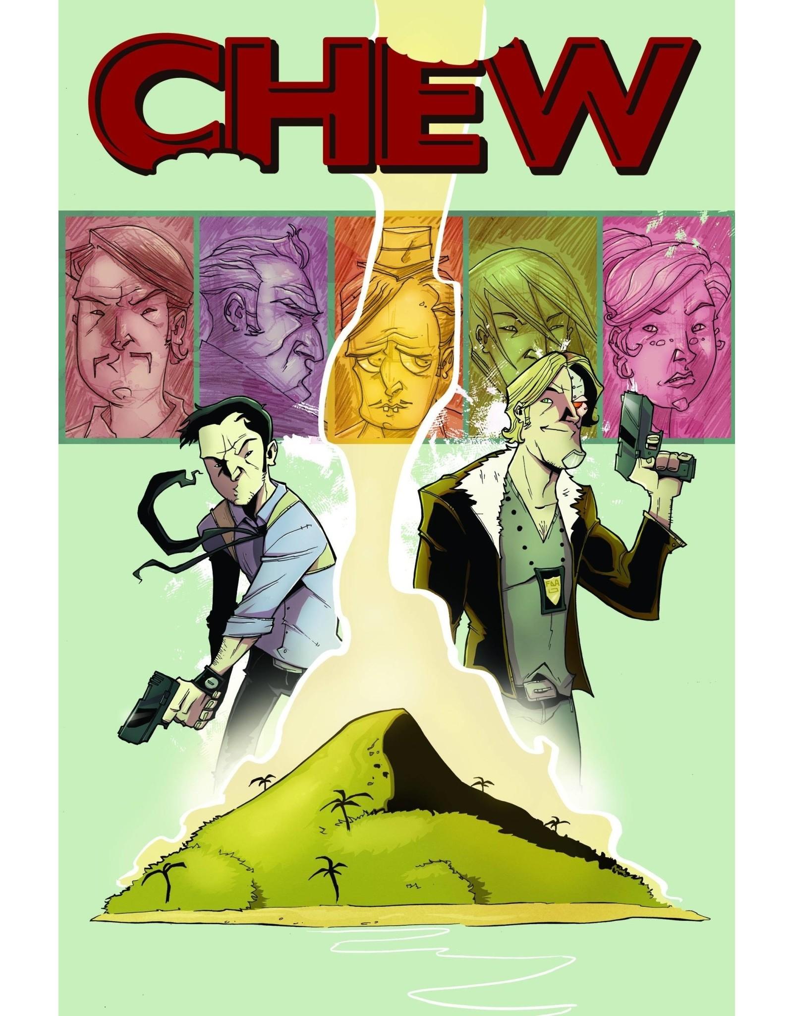 IMAGE COMICS CHEW TP VOL 02 INTERNATIONAL FLAVOR