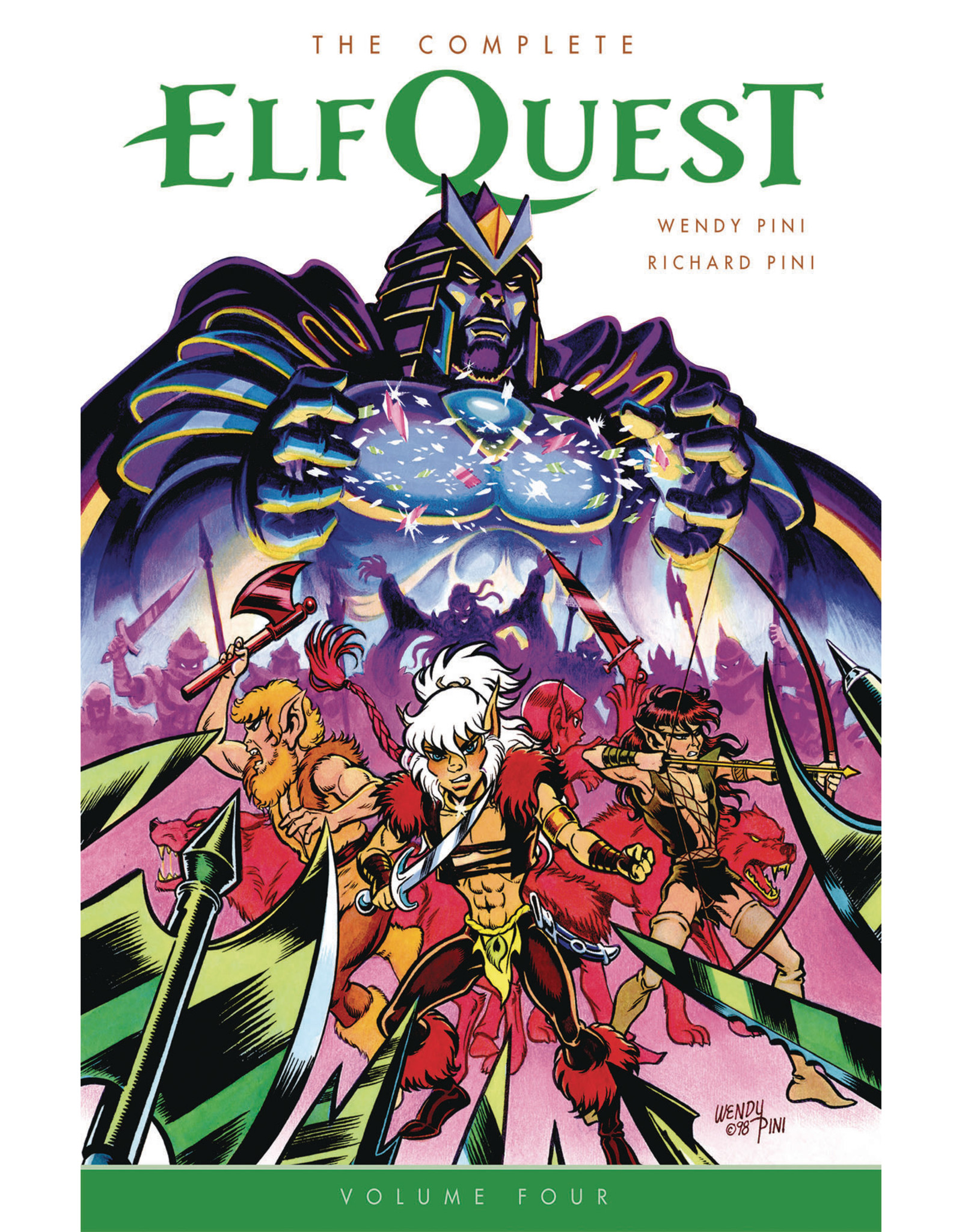 DARK HORSE COMICS COMPLETE ELFQUEST TP VOL 04