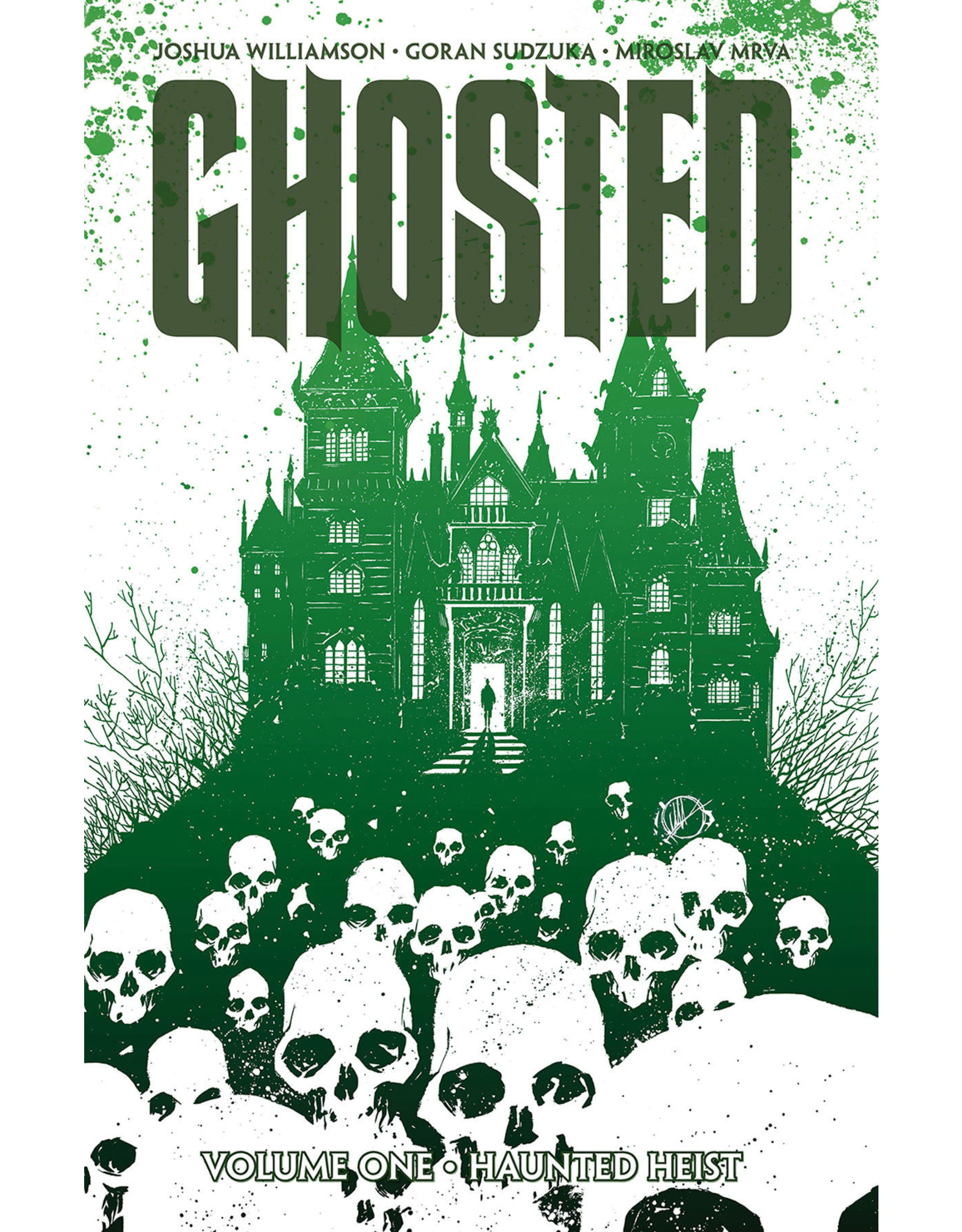 IMAGE COMICS GHOSTED TP VOL 01
